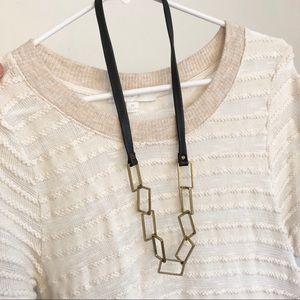 Hagar Satat Isreal rectangle  necklace